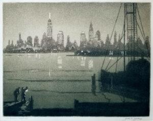 Civic Insomnia by Geral Geerlings, 1932