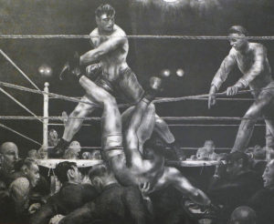 George Bellows' Dempsey and Firpo