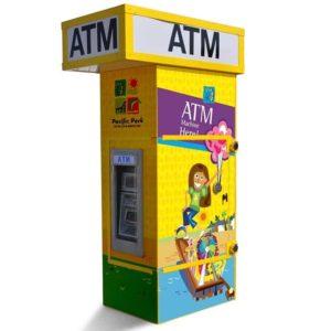Genmega GT3000 Drive-Up ATM Kiosk Enclosure Single Graphic Panel