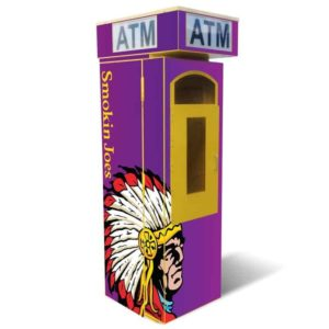 Outdoor Universal ATM Security Surround – Removable Topper Single Graphic Panel