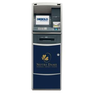 Diebold Opteva 500/500e ATM Front Panel Graphic Decal