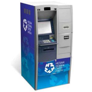 Diebold Opteva 720 Custom ATM Graphic Wrap