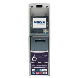 Diebold Opteva 520 ATM Front Panel Graphic Decal