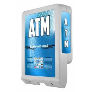 Custom ColorBrilliance Triton 9600 High ATM Graphic Topper Insert (14.5 x 20)