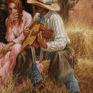 """Cotton Fields"" Creedence. Ноты для гармони хромки."