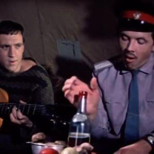 """""""На реке на озере"""" В.Высоцкий. Ноты для гармони"""