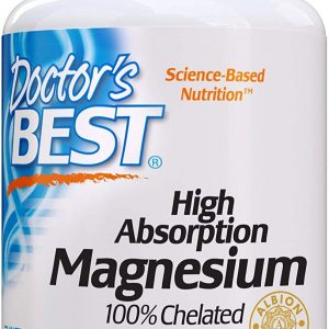 Doctor's Best 100% Chelated Magnesium 100mg