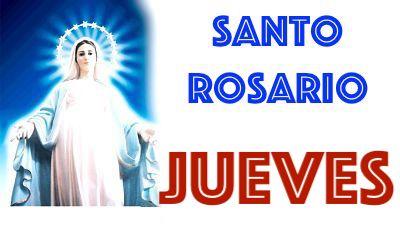 santo rosario jueves
