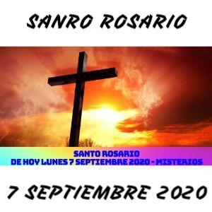 Santo Rosario de Hoy Lunes 7 Septiembre 2020 - MISTERIOS GOZOSOS