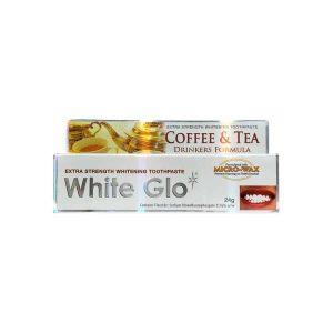 White Glo Potovalna Zobna Pasta proti Kavi in Čaju