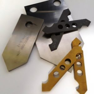 Blades for Two Blade Cut Off Dies