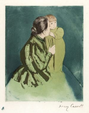 Mary Cassatt's Peasant Mother and Child