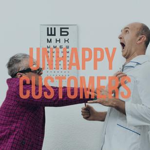 Angry Customer Social Media Reputation Management Mistake
