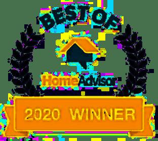 Home Advisor Best of 2020 Winner for Garage Door Repair