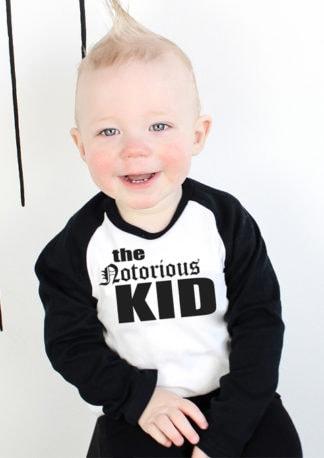 The Notorious KID BIG T-Shirt Hip Hop Kids TopBoys