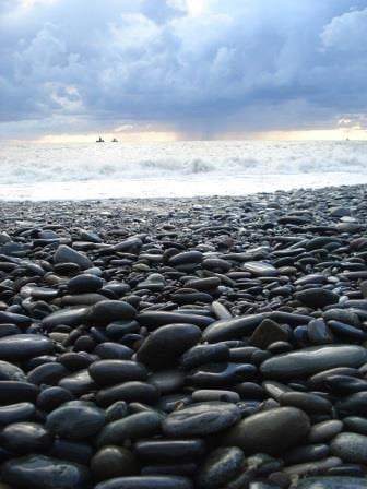 камни на море