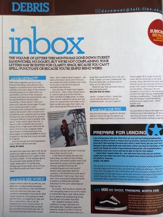Snowsports Photographer Melanie May in Document Snowboard Magazine