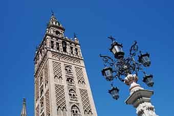 The Giralda Tower in Seville