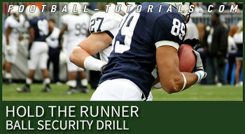 HOLD THE RUNNER BALL SECURITY DRILL 2