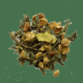 Thé vert BIO, coco, et fleurs de CBD