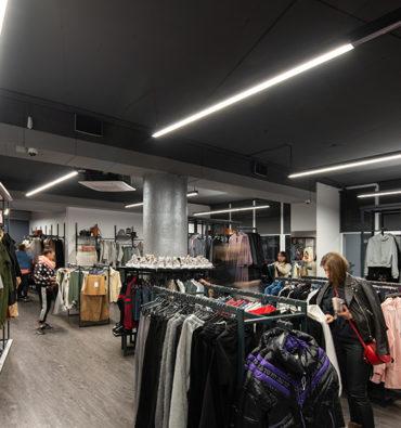 проект освещения для Tuning bar «Sendeli» showroom