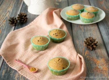 Muffin uvetta e cannella Bimby