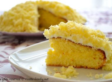 Torta mimosa senza glutine Bimby