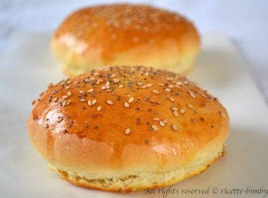 Panini per Hamburger - Burger Buns Bimby