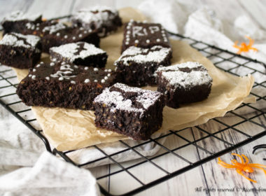 Brownies al cacao di Halloween Bimby
