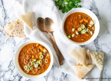 Chili vegetariano Bimby