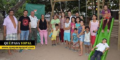 Photo of Alcaldía De Yopal entregó parque infantil en Los Progresos