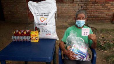Photo of Adultos mayores recibieron paquetes nutricionales y kits de aseo en Aguazul