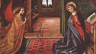 Primer Misterio Gozoso: La Encarnación del Hijo de Dios