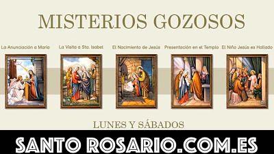 santo rosario misterios gozosos