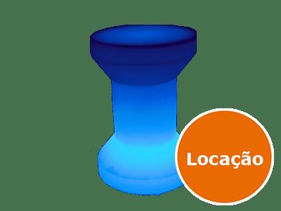 Móveis Led - Puffs, Mesas, Esferas, Poltronas, Balcões 14 banco carretel de led
