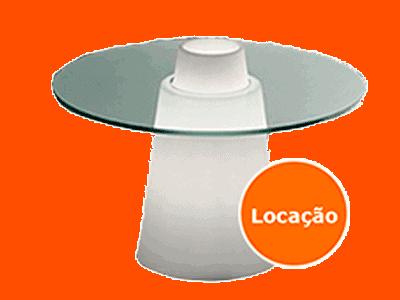 Locação de Mesa Neon para festas 6 mesa baixa cone locacao 400x300