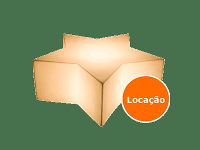 Móveis Led - Puffs, Mesas, Esferas, Poltronas, Balcões 10 puff banco estrela locacao 400x300