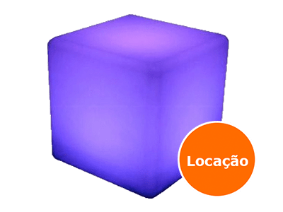 Móveis Led - Puffs, Mesas, Esferas, Poltronas, Balcões 12 puff de led quadrado 400x300 1