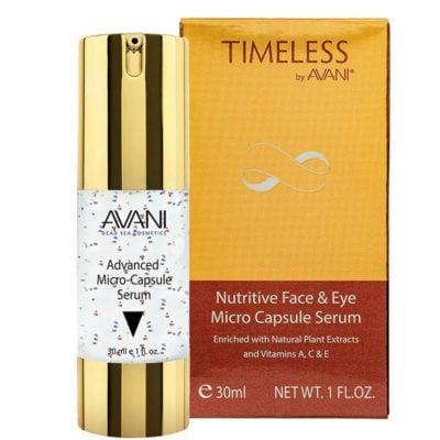 Nutritive face & eye micro capsule serum