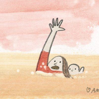 Mother And Milk - Animaatio-ohjaaja Ami Lindholm. Animaatioaiheina imetys , perhe, parisuhde, vanhemmuus.