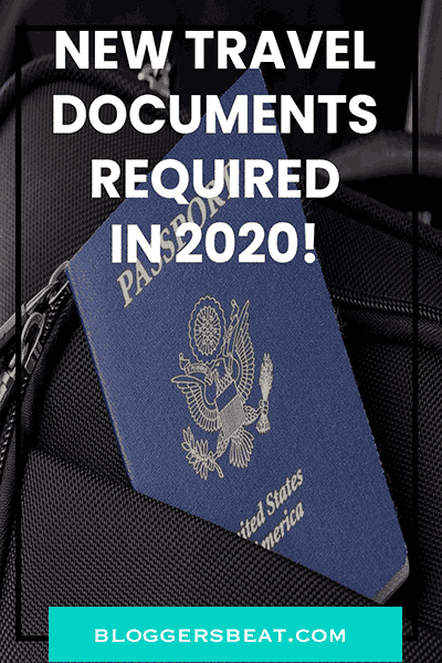 travel documents - pin image