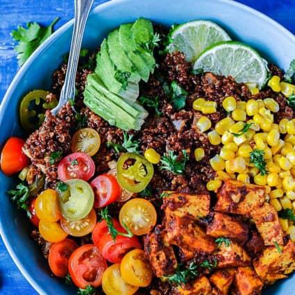 Mexican Quinoa Breakfast Bowl