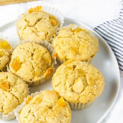 Vegan Gluten-Free Pear Muffins