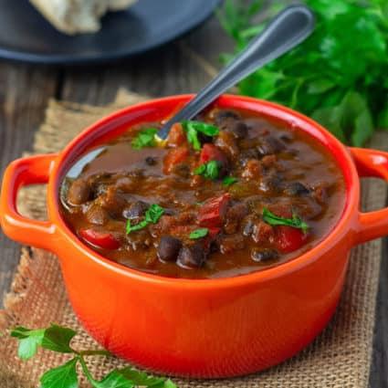 Black Chickpeas Stew