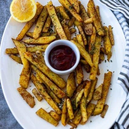 Yellow Yam Fries
