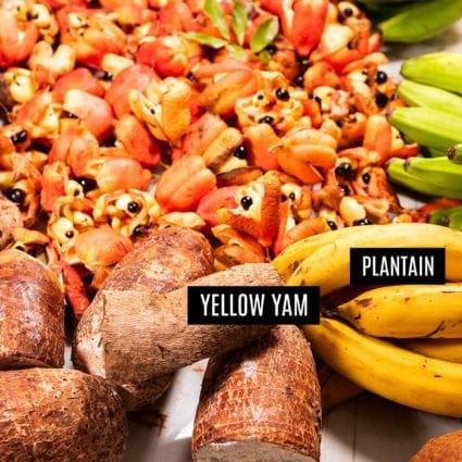 Jamaican Yellow Yam