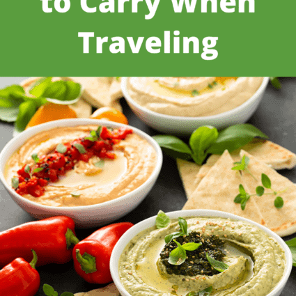 11 Healthy Snacks to Carry When Traveling
