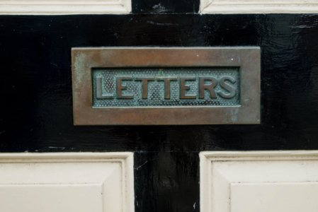writing a newsletter - letterbox