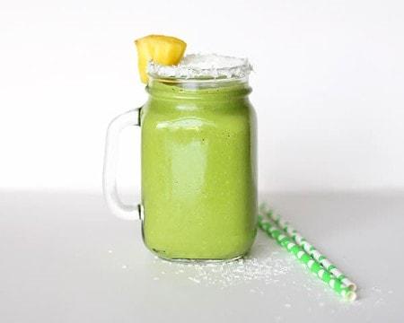 Green Piña Colada Smoothie