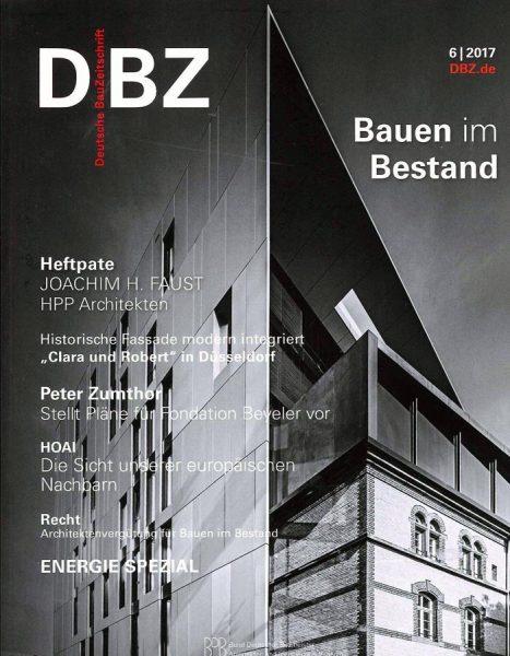 Publikation – Deutsche Bauzeitschrift 06/17